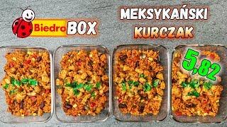 Prosty MEKSYKAŃSKI Kurczak z RYŻEM - LunchBOX na 4 dni - 697 kcal