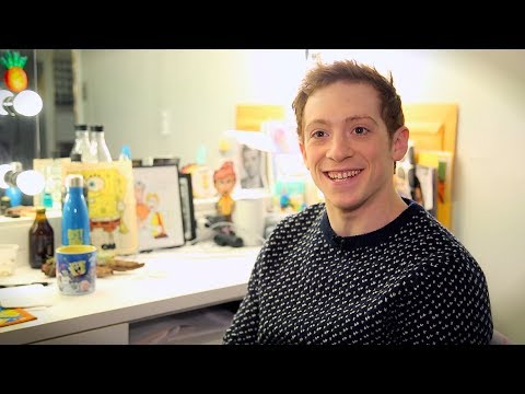 SPONGEBOB SQUAREPANTS' Ethan Slater Reacts to Being Named Broadway.com's Best Debut of 2017