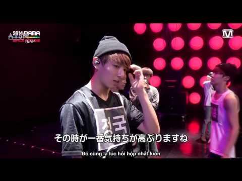 [VIETSUB] 2014 Hậu trường MAMA BTS & Block B