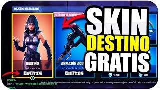 HOW TO GET NEW SKIN DESTINATION FOR FREE!!! PS4, XBOX & PC *TIP* Fortnite Battle Royale