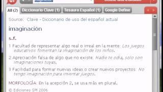 Definición de imaginación