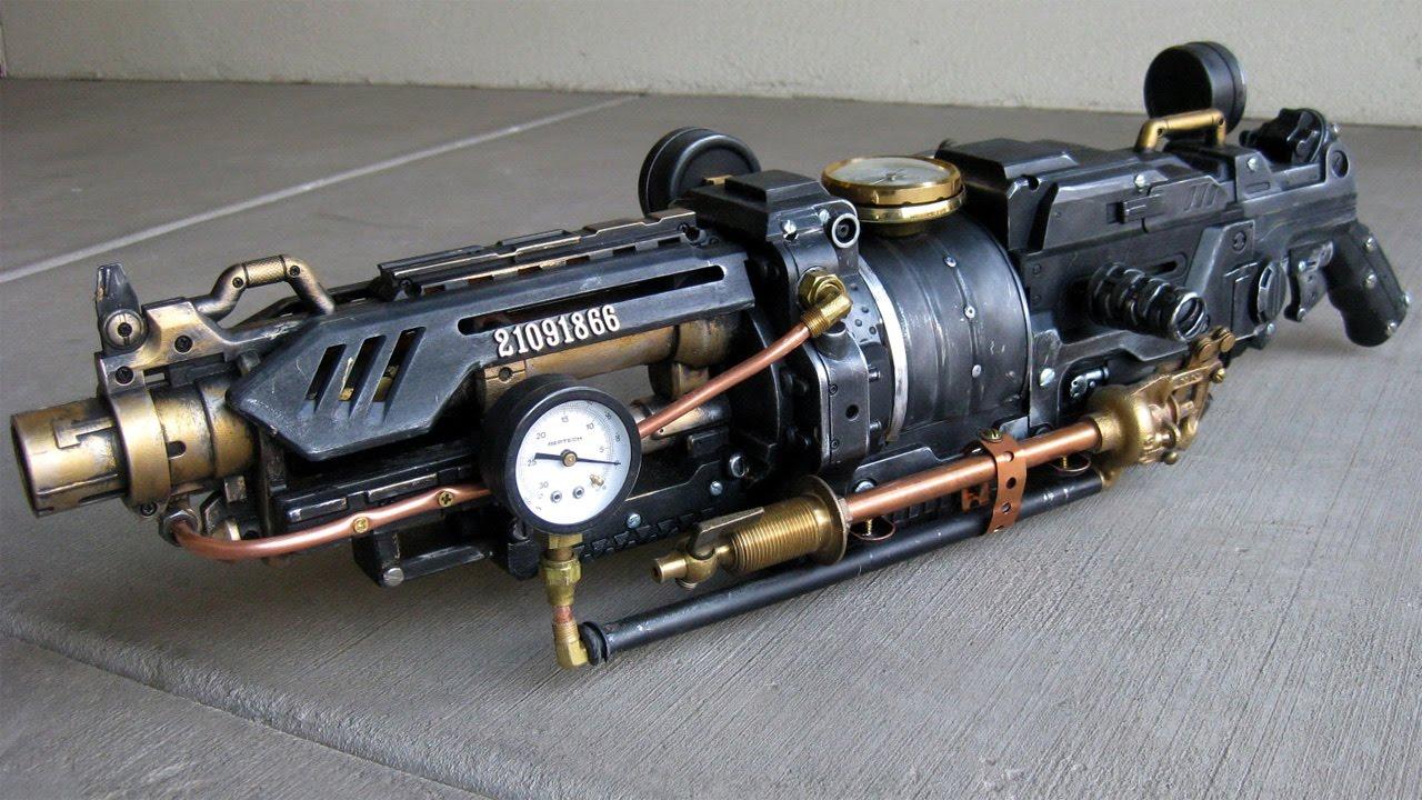 Steampunk Gun - KamuiCosplay  |Nerf Guns Awesome Looking