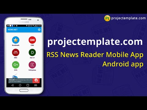 RSS News Reader Android App source code