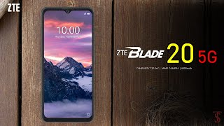 ZTE Blade 20 5G Price, Official Look, Design, Camera, Specifications, 6GB RAM, Features