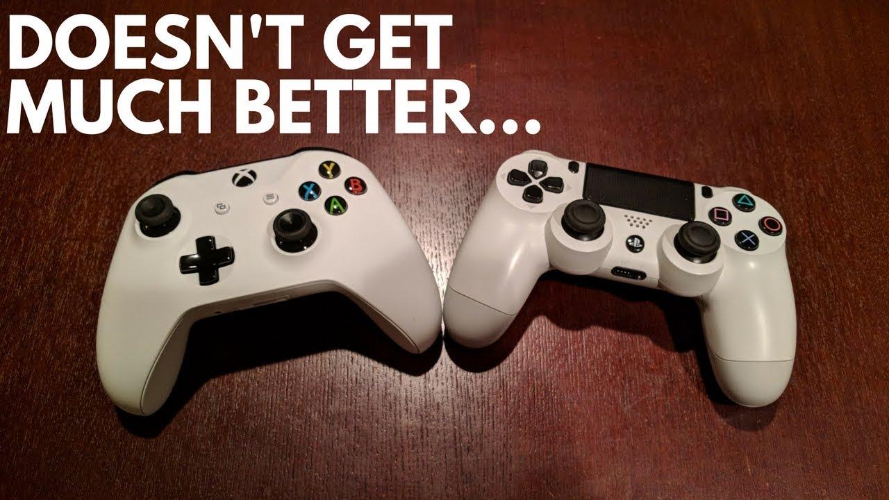 Xbox One vs PS4 Contro...