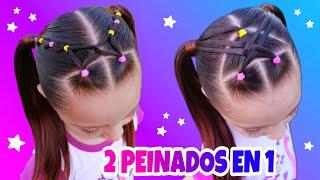 Peinados faciles y bonitos para niña