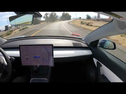 Tesla Autopilot FSD San Francisco to Los Angeles with Zero Interventions