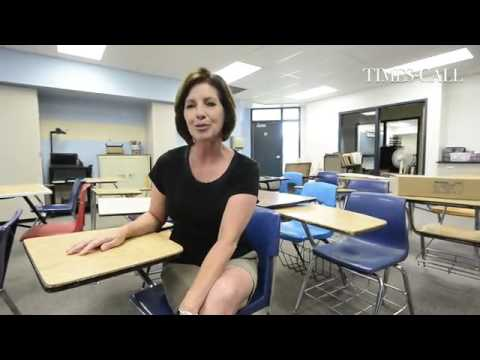 VIDEO: A #Longmont Christian School teacher talks about new storage spaces students can use