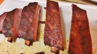 How To Barbecue Spare Ribs St. Louis Style
