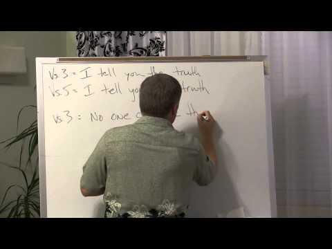 09/26 ~ Nicodemus: The Teacher Who Didn't Understand - John 3:1-21 - mybibleclass