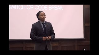 Code Switch or Code Break | Justin Roberson | TEDxIowaStateUniversity