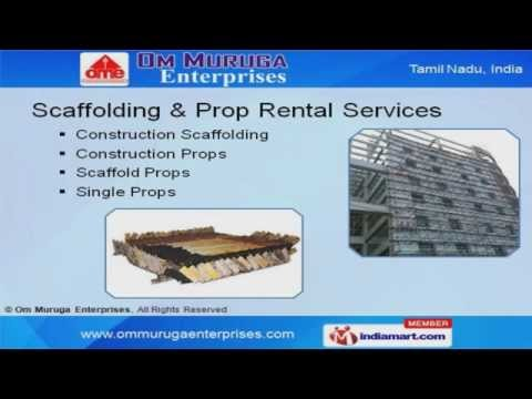 Construction Equipment Rental Services By Om Muruga Enterprises, Chennai