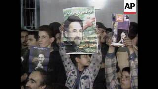 Iran - Presidential Election, Moderate Mohammad Khatami Wins Presidential Election, New Leadership C