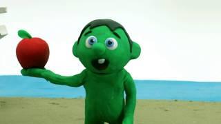 Superhero Beach fun Clay Stop motion cartoons