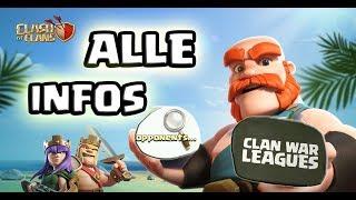 Was wir wissen?! | Update Infos | Clan Kriegs Liga und mehr | Clash of Clans Deutsch | iTzu