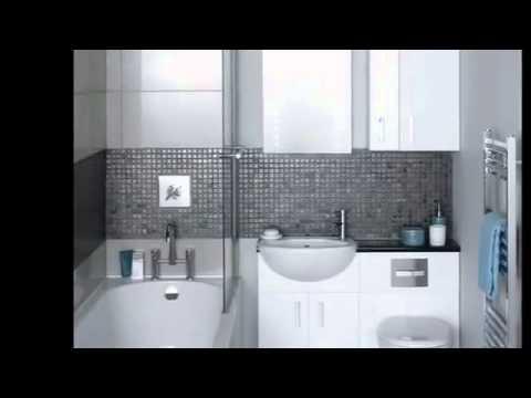 les plus belles d corations pour les petites salles de bains youtube. Black Bedroom Furniture Sets. Home Design Ideas