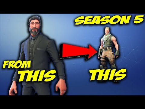 FORTNITE | Select Default Skin FOR PC [SEASON 5] July 14, 2018
