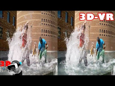 3D Extreme Effects Compilation  3D Side by Side SBS VR Active Passive