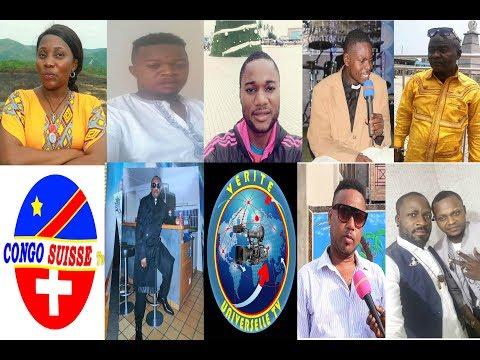 TELE REALITE CEREMONIE D'INAUGURATION YA SIEGE YA CONGO SUISSE TV NA VERITE UNIVERSELLE TV