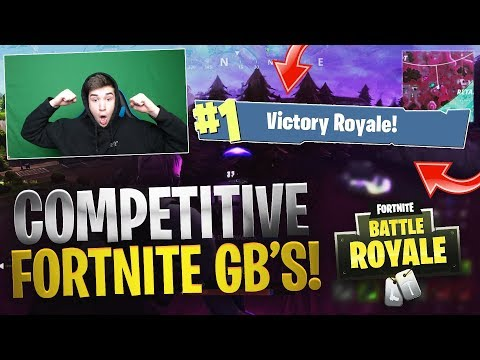COMPETITIVE FORTNITE UMGs #1 (Road To 100 UMG Wins Episode 1!)