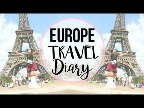 EUROPE TRAVEL DIARY | LONDON, PARIS, SCOTLAND