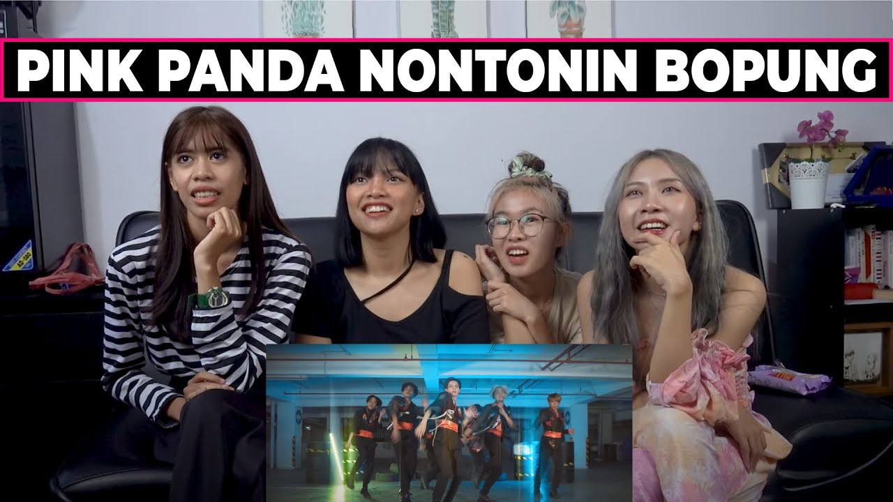PINK PANDA REACT I INVASION BOYS BLACKPINK HOW YOU LIKE THAT MALE VERSION