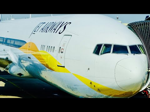 Flight Review: Jet Airways 777-300ER Economy Class, Amsterdam to Delhi | Flight Experience!