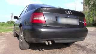 audi a4 b5 1 9 tdi ajm dźwięk silnika bez katalizatora engine sound without catalyse downpipe