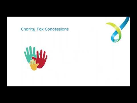 Webinar - Charity Tax Concessions And Endorsements - 23 May 2019