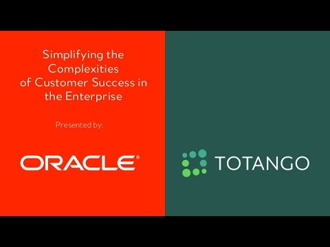 Simplifying Customer Success in Large and Complex Enterprises