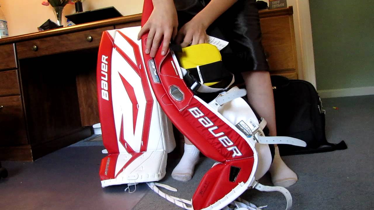 Bauer Supreme One90 Goalie Pads Review Youtube
