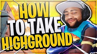 ** DAEQUAN MY HIGHGROUND NOW ** - Daquan Funny Moments ( Fortnite Highlights )