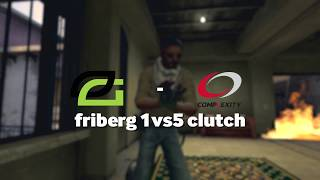 OpTic friberg's Incredible 1vs5 Clutch Against Complexity