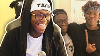 Deji Reacts To Deji Vs KSI Memes