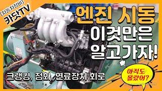[자동차정비기능사, 산업기사 실기] 엔진 시동작업(크랭…