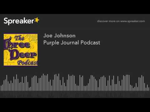 Purple Journal Podcast (made with Spreaker)