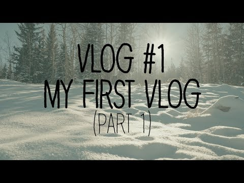 Vlog #1 - My First Vlog (part 1)