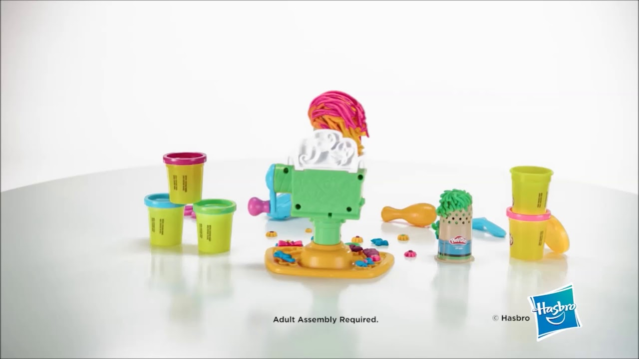 3e9d2cb3f8f Play-Doh Buzz 'n Cut Barber Shop Set- Smyths Toys - YouTube