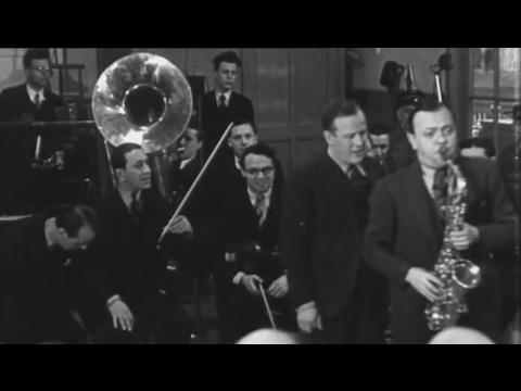 (1934) Jack Hylton and His Orchestra during the European tour in The Netherlands