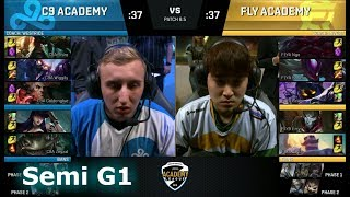 Video Cloud 9 Academy vs FlyQuest Academy | Game 1 Semi Finals NA Academy League Spring 2018 | C9A vs FLYA download MP3, 3GP, MP4, WEBM, AVI, FLV Agustus 2018