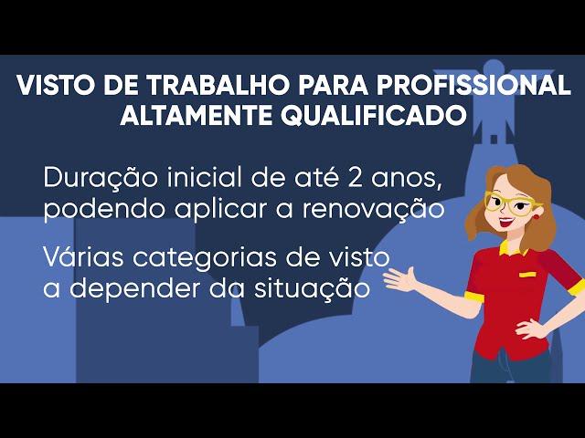 Tipos de visto para morar na Espanha - Visto de Trabalho