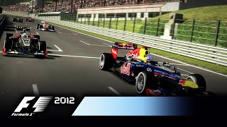 F1 2012 - Demo Gameplay Trailer