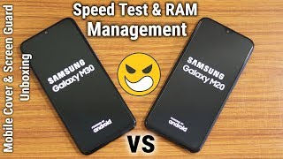 Samsung Galaxy M30 vs Samsung Galaxy M20 Speed Test Comparison & RAM Management
