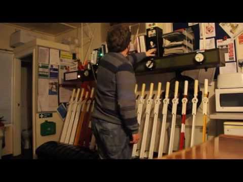 Switching out Chapel-en-le-Frith Signal Box