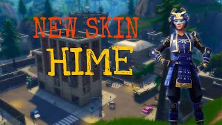 NEW SKIN | HIME SKIN| High Kill & Funny Moments Fortnite Battle Royale Gameplay - Useluss