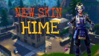NEUE HAUT | HIME SKIN| High Kill & Lustige Momente Fortnite Battle Royale Gameplay - Useluss