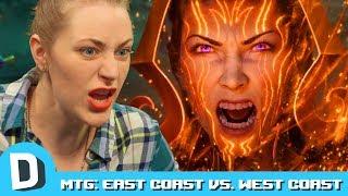 East Coast vs. West Coast in Magic: The Gathering Arena