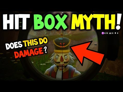 Hitbox Myth Busting Fortnite Do Bigger Skins Have A Bigger Hit