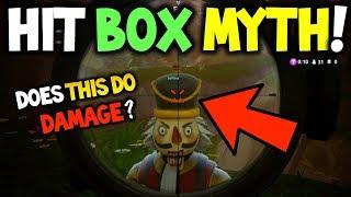 HITBOX MYTH BUSTING! Fortnite - Do Bigger Skins have a Bigger Hit Box? - Fortnite Battle Royale!