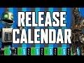 Release Calendar - April 11-17, 2016